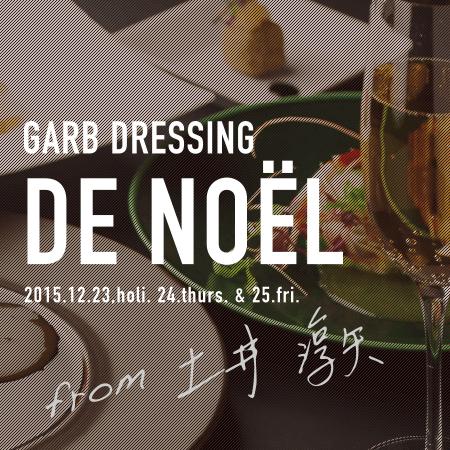 GARB DRESSING DE NOEL 2015