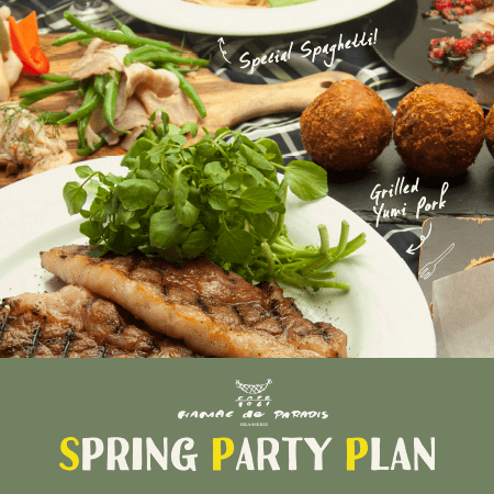 SPRING PARTY!!