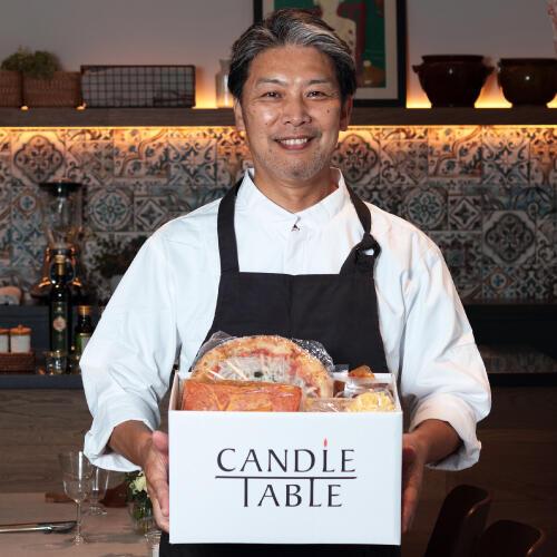 お取寄せサイト「CANDLE TABLE」でもAWAKEのお料理をご注文いただけます!
