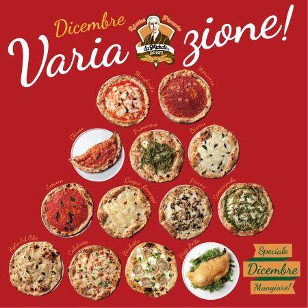 [12月限定]13種のピッツァがラインナップ!