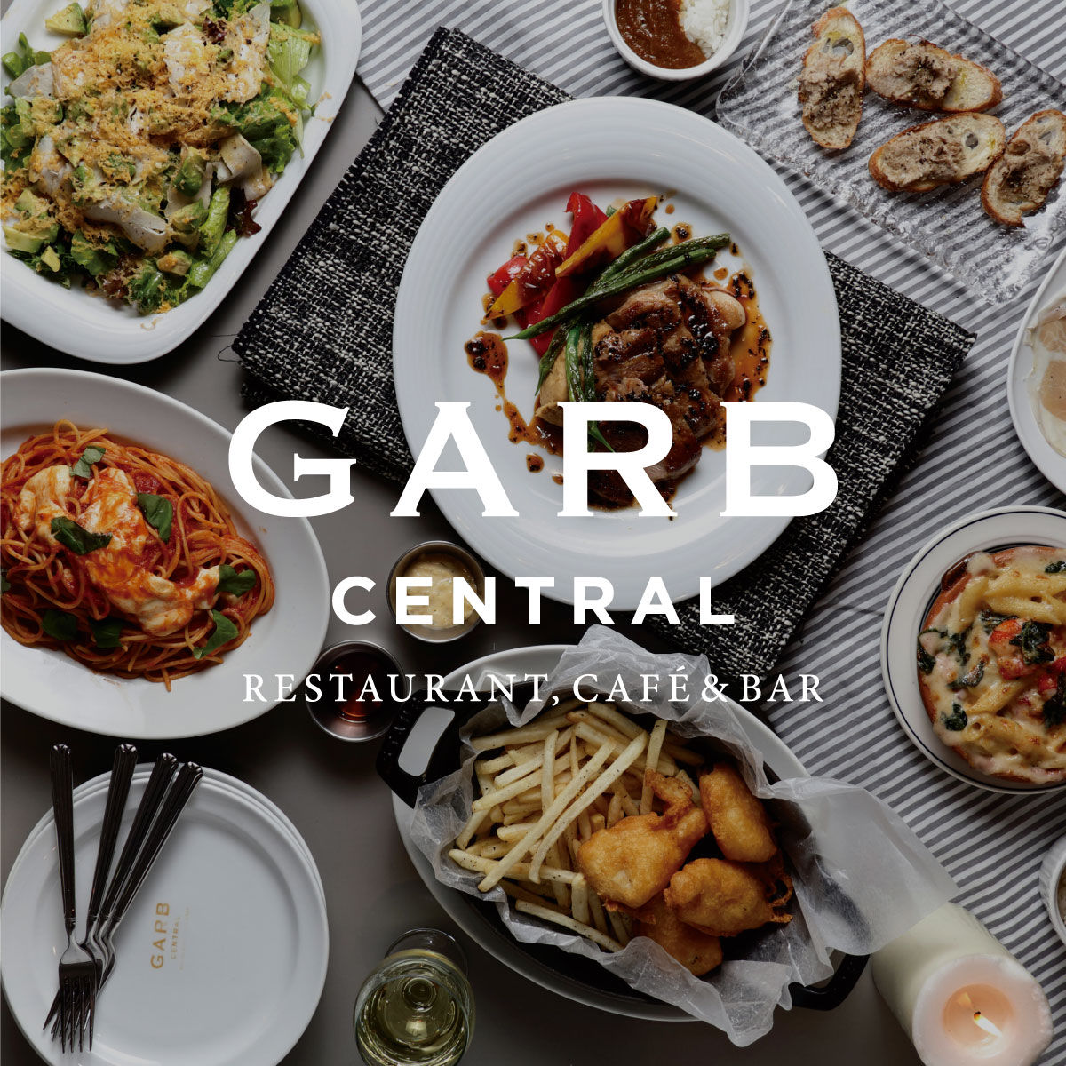 GARB CENTRALで歓送迎会!