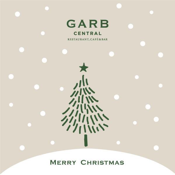 GARB CENTRAL 12/24,25限定クリスマスコース