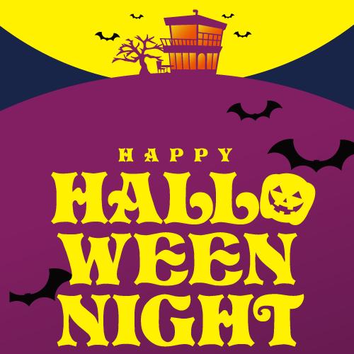 【10/31.thu 17:00 Start!】HAPPY HALLOWEEN NIGHT