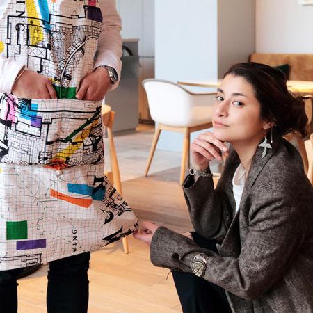 ファッションデザイナーのマリエが手掛ける「PASCAL MARIE DESMARAIS」デザインによるユニフォームをプロデュースしていただきました。