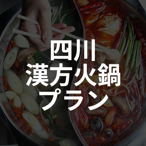 四川 漢方火鍋プラン